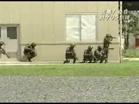 対ゲリラ市街戦訓練