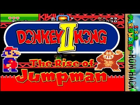 DK2 The Rise of Jumpman | AWESOME Super Mario World Hack