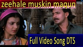 Zihaal-e-Miskeen maqun ba-ranjish  Full Video Song 1080p ghulami (1985)