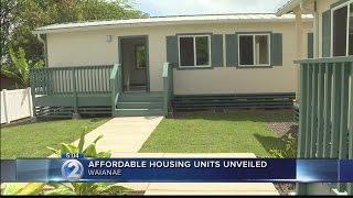Affordable housing units aim to help Waianae
