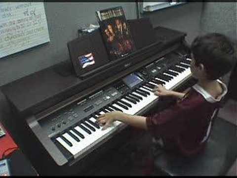 Davy Jones Plays His Organ
