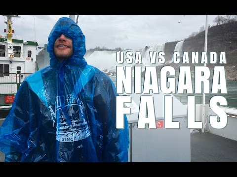 USA Vs. Canada - Whose NIAGARA FALLS Are Better? | Destination Jackson