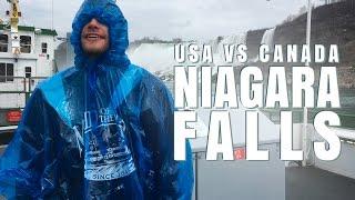 USA vs. Canada - Whose NIAGARA FALLS are Better? | Destination Jackson