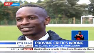 2017 Kenya Premier League most valuable player Michael Madoya happy with his performance