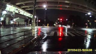 ドライブマン720 新ファームウェア 1203の夜間映像 thumbnail