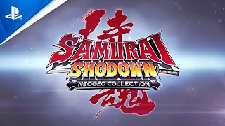 Samurai Shodown NeoGeo Collection - Launch Trailer | PS4