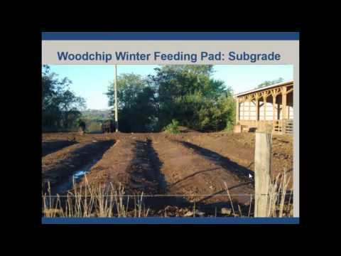 Wood Chip Pad Winter Feeding Area as a New Livestock Manure Management System