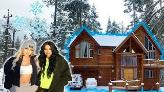 WE RENTED A $6,000 CABIN WITH 20 PPL!!! IT WAS INSANE