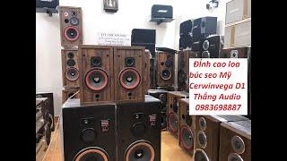 ดาวน์โหลดเพลง Vệ Sinh Màng Loa Bass Cerwinvega Bass40 Vừa