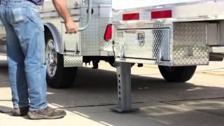 Alum-Line Flat bed Trailer for Heavy Equipment