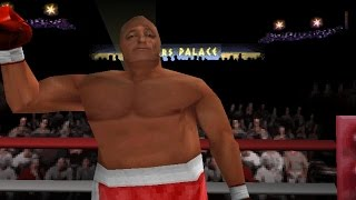 Knockout Kings 2000 PSX - George Foreman gameplay