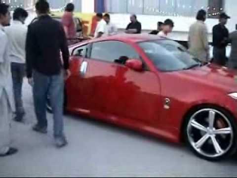 Nissan 350z In Peshawar Car Show Wmv Youtube