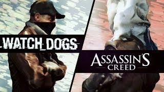 ВЕЛИКАЯ РЭП БИТВА. Watch Dogs VS Assassin