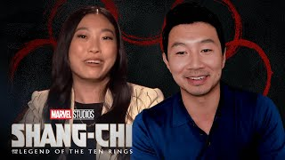 How to be a Super Hero with Simu Liu, Awkwafina & Meng'er Zhang   Ask Marvel