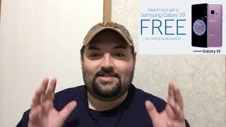 (Deal Alert) Get A Samsung Galaxy S9 For FREE!!!