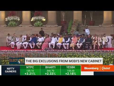 Narendra Modi & His Cabinet's Swearing-In Ceremony