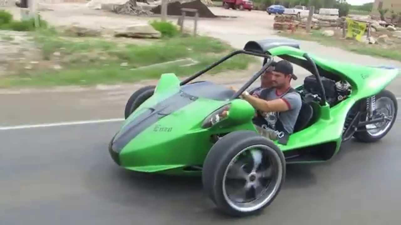 T Rex Replica Reverse Trike T Rex Youtube