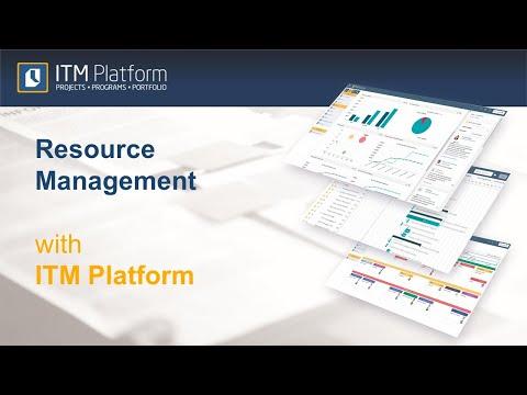 Resource Management with ITM Platform