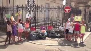 Actions écocitoyennes avec les écoliers à Avallon (89200)