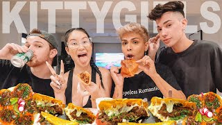 i&#39m sorry for all the things we talk about mukbang ft. the kitty girls