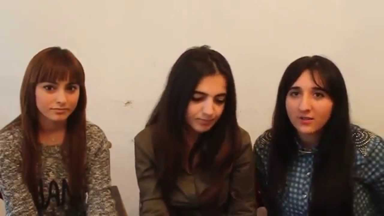 TOLIŞİ KİNON TƏBRİK Talish qizlarin tebriki - YouTube