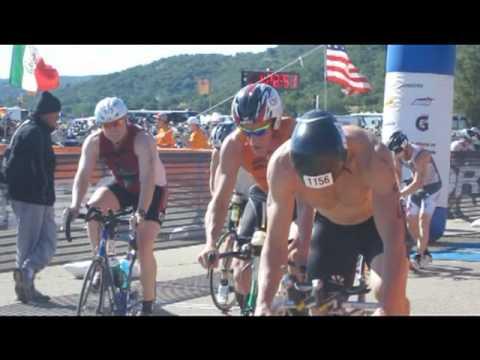 Michael Rushton Wildflower Triathlon 2011