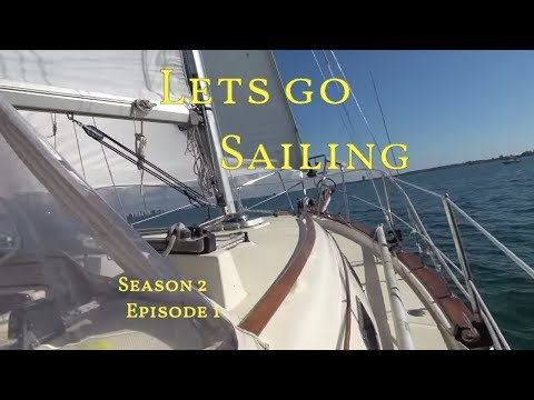 Learning to sail prepare for Caribbean ASA 103&104 The Boat Life Sailing Adventure travel vlog S2E1