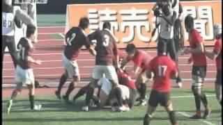2014年全国大学ラグビー選手権決勝 帝京×早稲田 8/8.