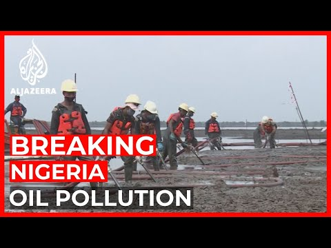 Four Nigerian farmers sued Shell for the oil pollution