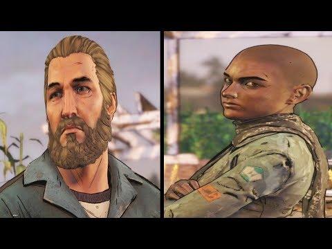 Tripp Vs Ava Scenes - The Walking Dead Game Season 3 Episode 5 |
