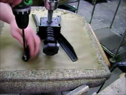 office chair leaning to one side vibrating infant repair wobbly youtube