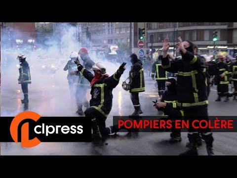 La manifestation des pompiers dgnre : incidents et tensions (15 octobre 2019, Paris)