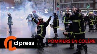 La manifestation des pompiers dégénère : incidents et tensions (15 octobre 2019, Paris)