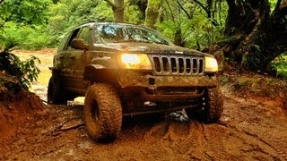 jeep wj and mates on thompsons te aroha side