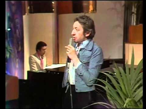 Serge Gainsbourg - Je suis venu te dire que je m'en vais (live 1975)