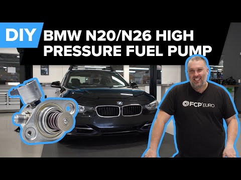 BMW High Pressure Fuel Pump (HPFP) Replacement DIY (BMW F30 – N20/N26 Engine)