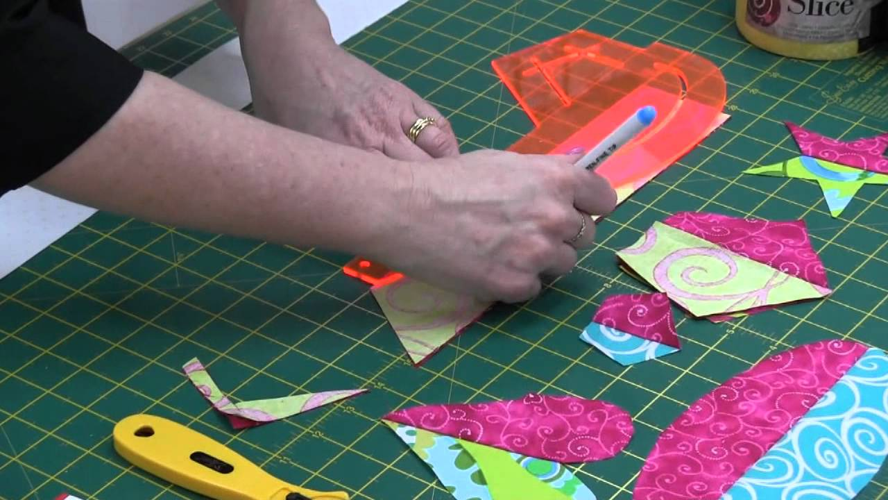 Sew Easy Jelly Pointer Template - YouTube