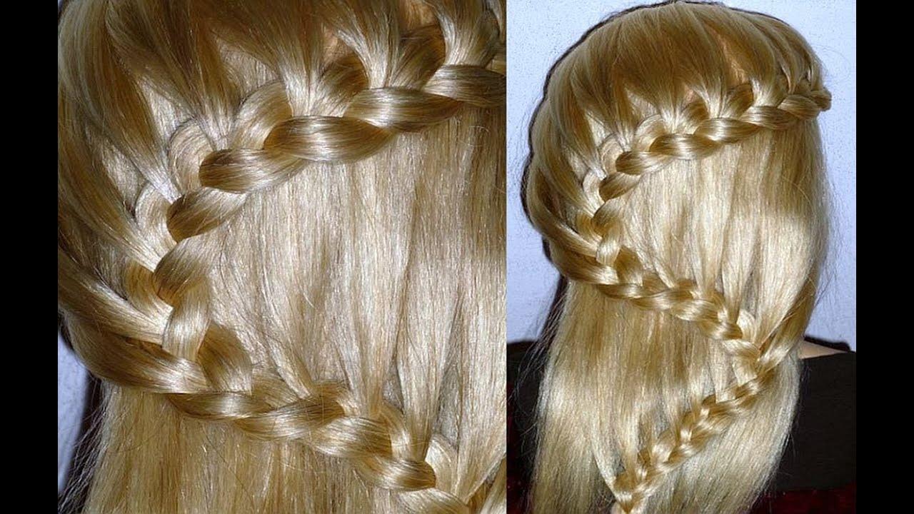 Причёски для девочек из кос на длинные волосы