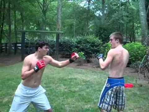 backyard mma fight youtube