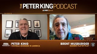 Brent Musburger sees playoffs as realistic goal for Raiders | Peter King Podcast | NBC Sports