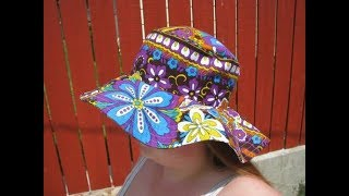 Diy how to make a reversible beach sun hat  |  Jessica Nneka