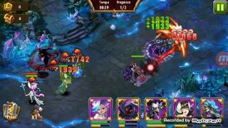 Magic rush heroes masmorra de cristal 103