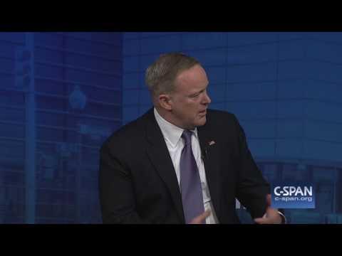 "White House Press Secretary Sean Spicer on Hitler/Holocaust gaffe: ""I made a mistake."" (C-SPAN)"