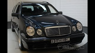 Mercedes-Benz E55 AMG Combi 1999 only 128.558 km -VIDEO- www.ERclassics.com
