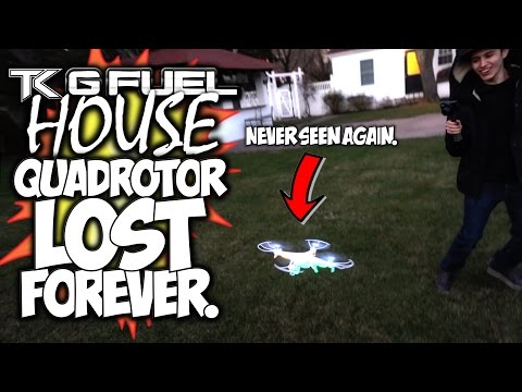 QUADROTOR LOST FOREVER. STUPID QUADCOPTER FAIL!
