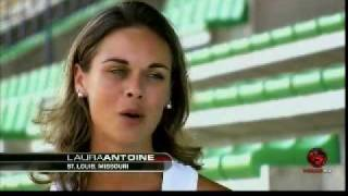 2009 Tour De France interview with Laura Antoine