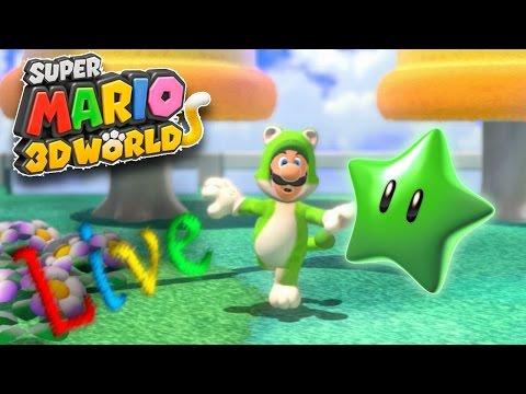 Sanku hat'streamt: Super Mario 3D World~ Mal sehen ob ich die verpassten Sterne alleine holen kann -