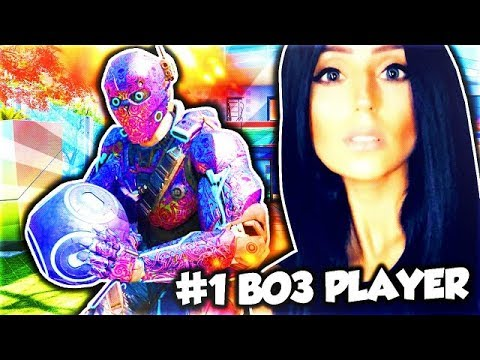 CALL OF DUTY BO3 W/DOOM LUCKYGIRL #1 LEADERBOARD PLAYER IN THE WORLD!!! EPIC WINS & RAGE!!!