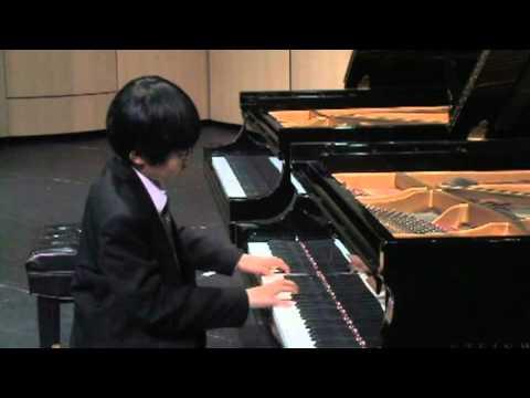 Arthur Chen, Mozart, Allegro Assai from Sonata K 332 F major