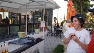 15.09. Переезд в новый отель. Тайское мороженое в Анапе. Тёплое море.